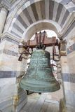 Bell in tower of Pisa, Italy Stock Image