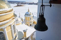 Monastery of the Nilo-Stolobenskaya Pustyn Stock Photos