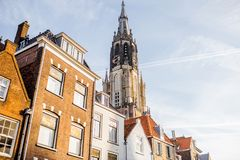 Delft city in Netherland Stock Photos