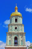 View on bell tower of Saint Sophia Cathedral in Kyiv Stock Photos