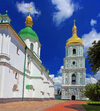 View on bell tower and Saint Sophia Cathedral Royalty Free Stock Photos