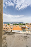 View from the Bell Tower in Split Royalty Free Stock Photography