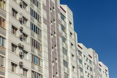 View from below of a high-rise buildings Royalty Free Stock Photo