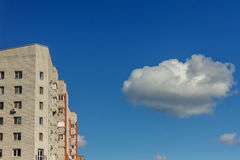 View from below of a high-rise buildings Royalty Free Stock Photography