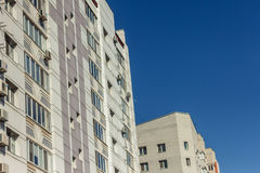 View from below of a high-rise buildings Royalty Free Stock Images