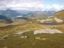 View from Ben Lomond Stock Image