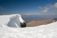 A view from Ben Nevis Stock Photo