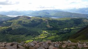 View from Ben Nevis Stock Photos