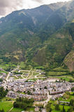 View of Benasque Royalty Free Stock Photos