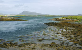 View from Benbecula causeway Royalty Free Stock Images