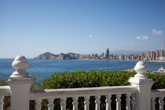 View of Benidorm, Costa Blanca Stock Photography