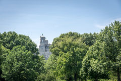 View on the Beresford Building from Central park in New York Stock Photos
