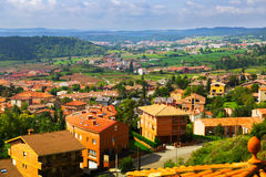 View of Berga area in   Catalonia Royalty Free Stock Photo