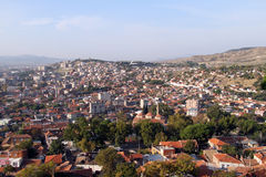 View of Bergama Stock Images