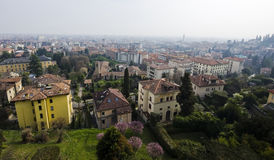 Bergamo town Royalty Free Stock Photography