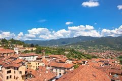View of Bergamo, Italy Royalty Free Stock Photos