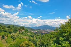 View of Bergamo, Italy Stock Photo