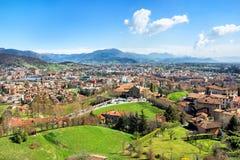 View of Bergamo. Italy Stock Photography