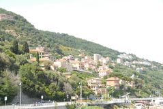 View of Bergeggi, Ligura - Italy royalty free stock photo