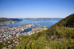 View of Bergen Stock Photos