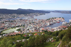 View of Bergen Stock Images