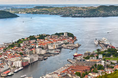 View of Bergen Royalty Free Stock Photography