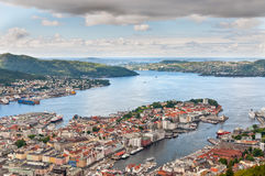 View of Bergen Royalty Free Stock Photos