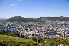 View of Bergen Stock Images