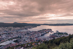 View of Bergen, Norway Stock Photography