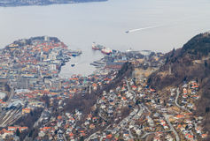 View of Bergen, Norway. Stock Photos