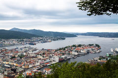View of Bergen, Norway Stock Photo