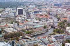 View of Berlin Royalty Free Stock Photos