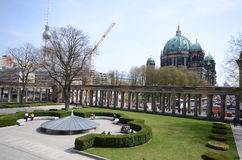 View berlin alte nationalgalerie Stock Photography