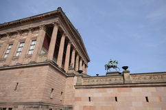 View berlin alte nationalgalerie Royalty Free Stock Photography