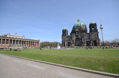 View berlin cathedral Royalty Free Stock Photos