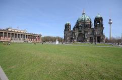 View berlin cathedral Royalty Free Stock Photography