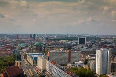 View of Berlin Germany Stock Image