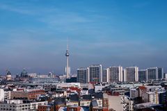 View on berlin in winter Royalty Free Stock Photography