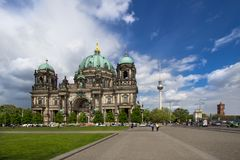Berlin Cathedral in Berlin, Germany Royalty Free Stock Photo