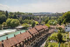 View of Bern, Switzerland Royalty Free Stock Photos