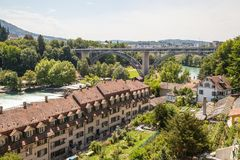 View of Bern, Switzerland Stock Photos