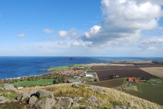 View From Berwick Law Royalty Free Stock Photo
