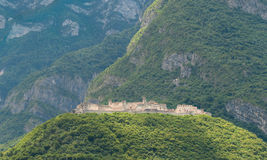 View of Beseno Castle, Italy Royalty Free Stock Images