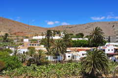 View of Betancuria Fuerteventura Stock Photos