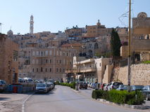 View of Bethlehem. Photo took in Bethlehem, West Bank royalty free stock images