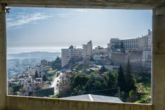 View at Betlehem royalty free stock photography