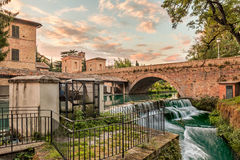 View of Bevagna, Umbria, Italy stock images
