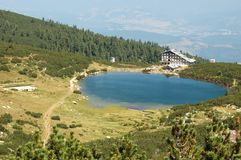 View of Bezbog Lake in Pirin mountains,Bulgaria Stock Image