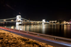 View at bgridge in Budapest, Hungary Stock Photo
