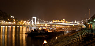 View at bgridge in Budapest, Hungary Stock Image